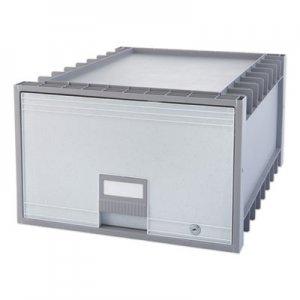 "Storex Archive Storage Drawers, Legal Files, 18.25"" x 24"" x 11.5"", Gray STX61401U01C 61401U01C"