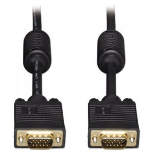 Tripp Lite VGA Coaxial High-Resolution Monitor Cable with RGB Coaxial (HD15 M/M), 6 ft TRPP502006 P502-006