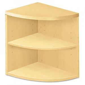 HON Valido Series Two-Shelf End Cap Bookshelf, 24w x 24d x 29-1/2h, Natural Maple HON115520AXDD H115520.A