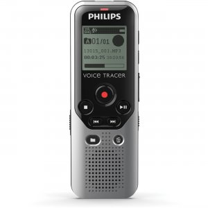 Philips Voice Tracer 4GB Digital Voice Recorder DVT1200/00 PSPDVT1200 DVT1200