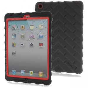 Gumdrop Drop Tech Series Case for iPad Air DT-IPAD5-BLK-RED-V2