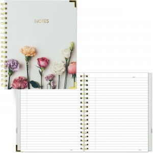 Rediform Blueline Rose Design Romantic Notebook A360002 REDA360002
