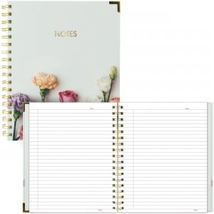 Rediform Blueline Rose Design Romantic Notebook A360001 REDA360001