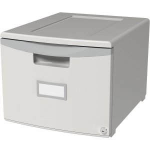 """Storex 18"""" Stackable File Drawer 61261B01C STX61261B01C"""