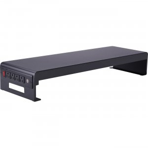 Lorell AC/USB Double Monitor Stand 00079 LLR00079