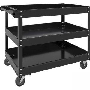 Lorell 3-shelf Utility Cart 00028 LLR00028