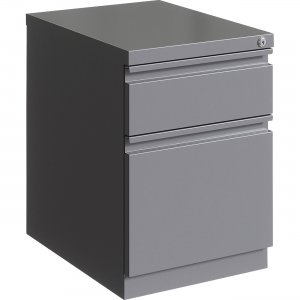 "Lorell 20"" Steel B/F Mobile Pedestal 00054 LLR00054"