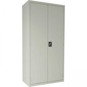 Lorell 4-shelf Steel Janitorial Cabinet 00019 LLR00019