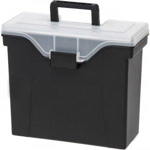 Iris Organizer Lid Slim Portable File Box 111106 IRS111106