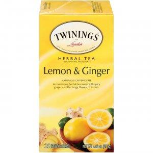 Twinings Lemon & Ginger Herbal Tea 09180 TWG09180