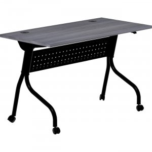 Lorell Charcoal Flip Top Training Table 59489 LLR59489