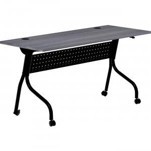 Lorell Charcoal Flip Top Training Table 59487 LLR59487