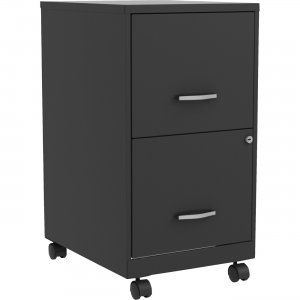 Lorell SOHO F/F Mobile File Cabinet 00061 LLR00061