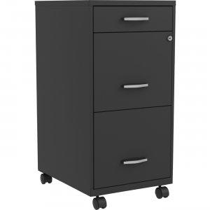 Lorell SOHO B/F/F Mobile File Cabinet 00060 LLR00060