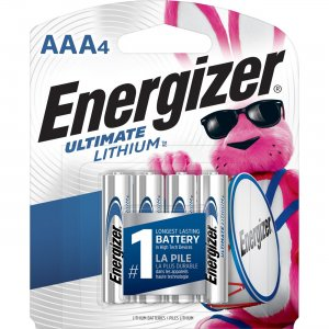 Energizer Ultimate Lithium AAA Batteries L92SBP4CT EVEL92SBP4CT