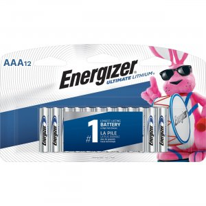 Energizer Ultimate Lithium AAA Batteries L92SBP12CT EVEL92SBP12CT