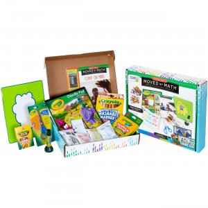 Crayola Moved By Math Family Projects Activity Kit 040563 CYO040563