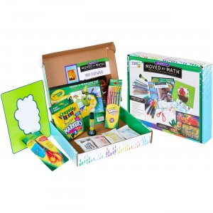 Crayola Moved By Math Family Projects Activity Kit 040564 CYO040564