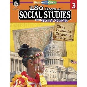 Shell Education 180 Days Social Studies Workbook 51395 SHL51395