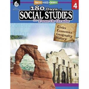 Shell Education 180 Days Social Studies Workbook 51396 SHL51396