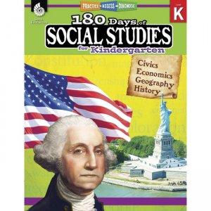 Shell Education 180 Days Social Studies Workbook 51392 SHL51392