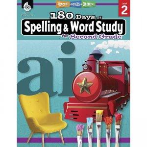 Shell Education 180 Days Spelling/Study Workbook 28630 SHL28630