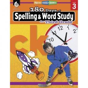 Shell Education 180 Days Spelling/Study Workbook 28631 SHL28631