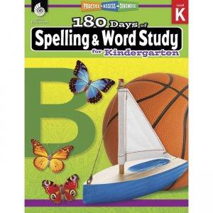 Shell Education 180 Days Spelling/Study Workbook 28628 SHL28628