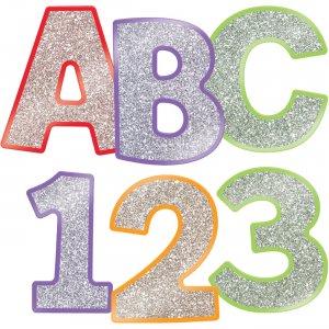Carson-Dellosa Carson EZ Letters Colorful Glitter Combo Pack 130084 CDP130084