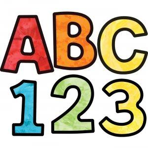 Carson-Dellosa EZ Letters Watercolor Combo Pack 130085 CDP130085