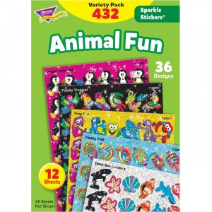 TREND Animal Fun Stickers Variety Pack 63902 TEP63902