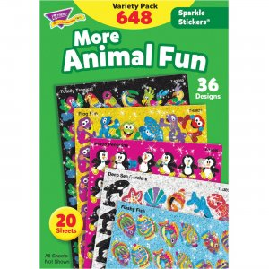 TREND Animal Fun Stickers Variety Pack 63910 TEP63910