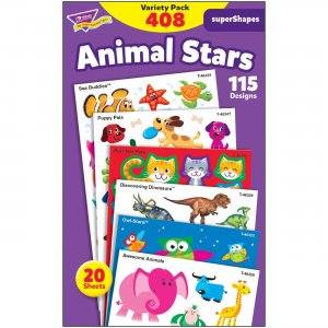 TREND Animal Fun Stickers Variety Pack 46928 TEP46928
