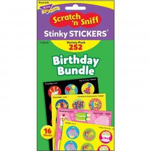 TREND Birthday Scratch 'n Sniff Stinky Stickers T83918 TEPT83918