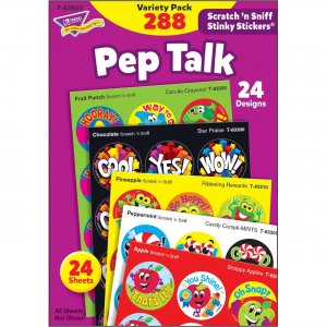 TREND Pep Talk Scratch 'n Sniff Stinky Stickers 83920 TEP83920