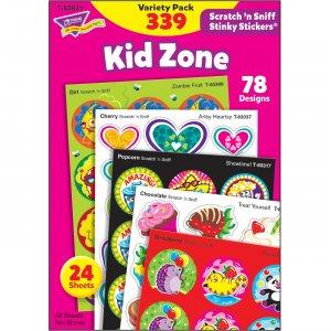TREND Kid Zone Scratch 'n Sniff Stinky Stickers 83921 TEP83921