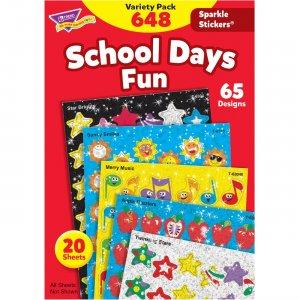 TREND Sparkle Stickers School Days Fun Stickers 63909 TEP63909