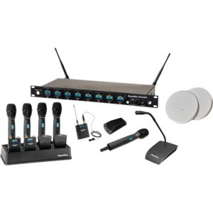 ClearOne 4-Channel Wireless Microphone System Receiver 910-6000-405-C-D WS840