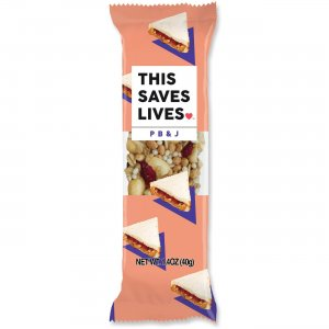 This Bar Saves Lives P B & J Snack Bar 00473 TSL00473