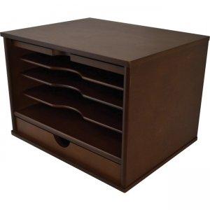 Victor Heritage Wood Desktop Organizer H4720 VCTH4720
