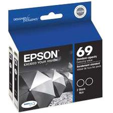 Epson DURABrite Dual Pack Ink Cartridge T069120-D2 No. 69
