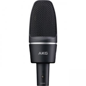 AKG High-Performance Large-Diaphragm Condenser Microphone 2785X00230 C3000