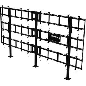 Peerless-AV SmartMount Modular Video Wall Pedestal Mount 4x3 Configuration DS-S555-4X3