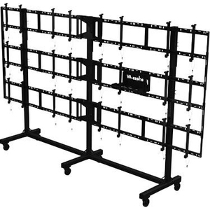 "Peerless-AV SmartMount Portable Video Wall Cart 4x3 Configuration for 46"" To 55"" Displays DS-C555-4X3"