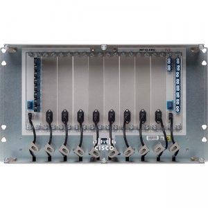 Cisco Mechanical Frame for Passive Units, 10 Slots with USB Hub, 6 RU NCS2K-MF10-6RU=