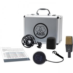 AKG Reference Multipattern Condenser Microphone 3059X00060 C414 XLII
