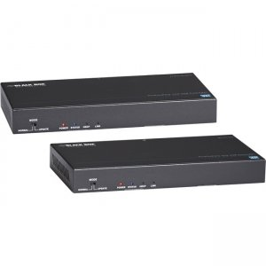 Black Box Video Extender - DisplayPort, RS-232, Audio, USB 2.0, 4K UVX-DP-TP-100M