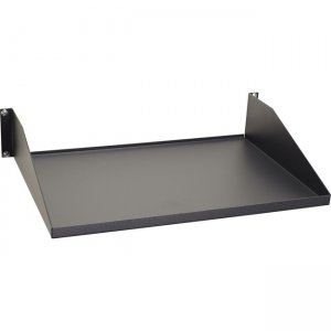 "Black Box IT Rackmount Shelf - Fixed, 2U, 19"", 12.21""D, 2-Point Mounting, 100-lb. Capacity RMTS00"