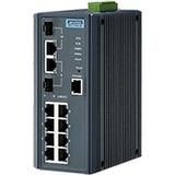 Advantech 8FE+2G Combo Managed Ethernet Switch EKI-7710E-2C-AE EKI-7710E-2C