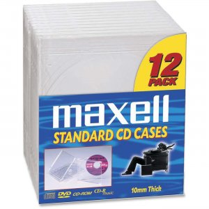 Maxell Compact Disc Replacement Jewel Cases 190069OD